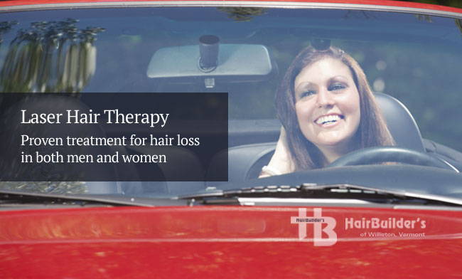Laser hair therapy treatment for hair loss